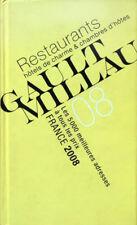 GUIDE GAULT MILLAU 2008: Restaurants, Hôtels de charme, Chambres d'hôtes
