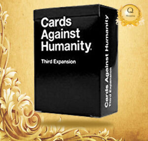 NEW Cards Against Humanity: Third Expansion UK Edition FREE & FAST DELIVERY!!
