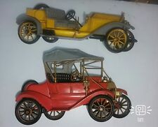 Burwood Products Antique Cars Wall Plaque Hanging 1987