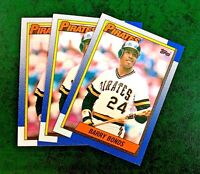 1990 Topps #220 Barry Binds - Pirates