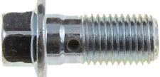 Brake Hydraulic Hose to Caliper Bolt Front,Rear Dorman 13935