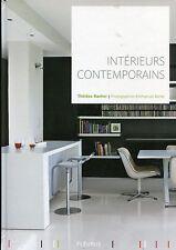 INTERIEURS CONTEMPORAINS.par Thérése Rocher.Beau livre de photos