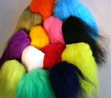 ICE FLIES. Icelandic sheep hair for fly tying, 13 colors
