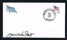 James Van Fleet (d. 1992) signed autograph Postal Cover General of U.S. Army