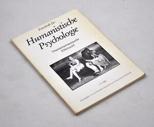 Zeitschrift für Humanistische Psychologie: Themenschwerpunkt Eifersucht 1/2 1983