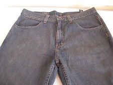Claiborne Mens 100% Cotton Dark Blue Boot Cut Classic Denim Jeans Sz 33/30 NWT