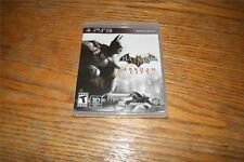 Batman Arkham City w/ Code to Unlock Playable Character CATWOMAN PS3 New