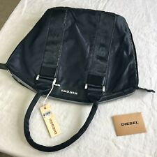 NWT DIESEL New Generation Beck Off Black Unisex Bag