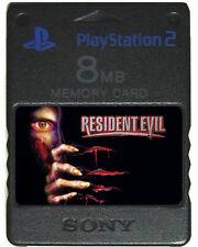 RESIDENT EVIL 1 2 3 4 Cheats | MEMORY CARD SAVES | PS2 Code Veronica PSX Nemesis
