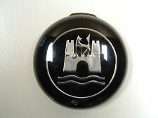 Vintage VW OEM Horn Button Black & Chrome (On hand Ships Today) #4