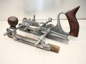 "Craftsman Tools Combination Plane 3728 single 1/4"" blade USA"