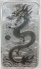 Australien 1 $ Dragon 2018 Perth Mint 1 Oz Silberbarren Münzbarren Silber Ag