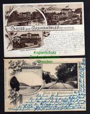 119855 2 AK Gremsmühlen Ost Holstein Litho 1898 Hotel Brahmberg Hotel Dicksee