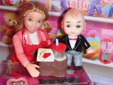 Hallmark Merry Miniature Valentine Tree Stump Cupie Doll fits Loving Family Doll