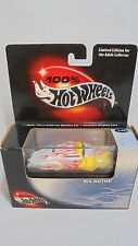 Mattel 100% Hot Wheels Big Mutha yellow/white with flames 1:64 diecast MIB