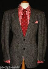 MEN'S M&S  TWEED GREY LUXURY DESIGNER JACKET UK 44M