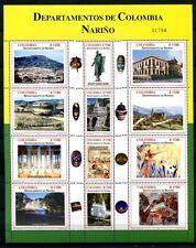 Kolumbien Colombia 2004 Provinz Narino Tourismus 2316-2327 Postfrisch MNH
