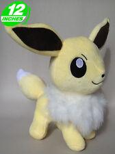 Pokemon Inspired Gray Eevee Plush Doll 30cm Eeveelutions