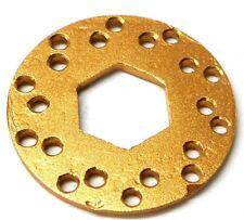 L133 RC Disque de frein disque V2 x1 14 mm Center échelle 1/10 Marron Clair Alliage