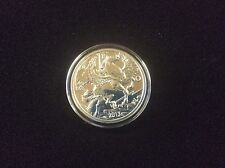 2013 pegasus silver coin. proof edition.