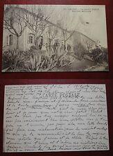 CARTOLINA CARTE POSTALE GRASSE LE NOUVEL HOPITAL PAVILLON MILITAIRE 1919