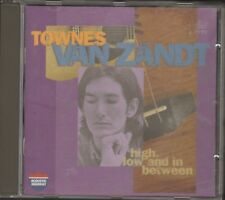 The Late Great TOWNES van ZANDT High Low and In Between 2 Albums 1 CD 22 track