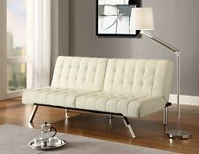 Convertible Sofa Futon Chaise Lounger Pull Out Bed Sleeper Couch GREAT DEAL NEW!