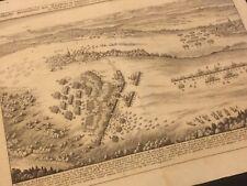 LIECHTENBERG RINKELDORF PFAFFENHOFEN ORIGINAL MERIAN KUPFERSTICH UM 1640