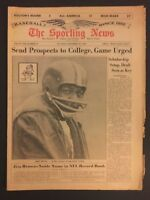 1964 Sporting News CLEVELAND BROWNS Jim BROWN No Label NFL RECORD 10,000 yds N/L