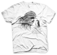 Officially Licensed Star Wars - Chewbacca & Porg Men's T-Shirt S-XXL Sizes