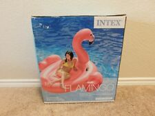 Brand new in the box Intex Adult Mega Flamingo pool Island