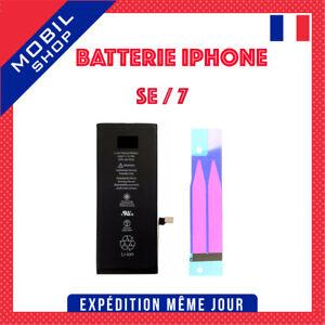 BATTERIE INTERNE NEUVE 0 CYCLE POUR IPHONE SE / 7 COMPATIBLE + OUTILS