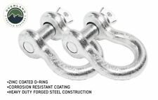"""OVS Recovery Shackle D-Ring 3/4"""" 4.75 Ton Zinc - Sold In Pairs"""