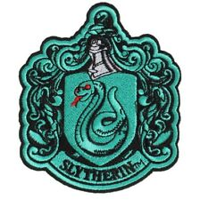 Harry Potter Wappen SLYTHERIN Logo Aufnäher Patch *SOFORTVERSAND*