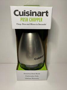 Cuisinart Push Chopper - Stainless Steel Blade