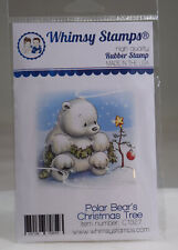 Stempel, Motivstempel, Whimsy Stamps, Weihnachten, Eisbär, Stern