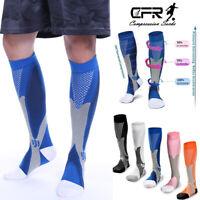 Anti-Fatigue Sports Compression Socks Knee High 20-30mmHg Graduated Leg Support