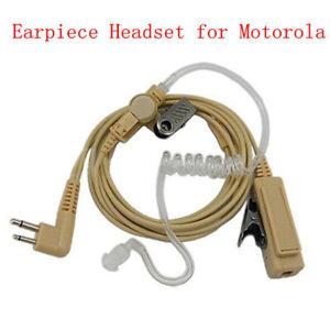 NEW Earpiece Ear Phone Headset for Radio Walkie Talkie GP88 GP300 CP040 CP110