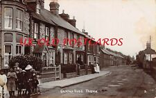 Oxfordshire - THAME, Chinnor Road, Real Photo, used 1917