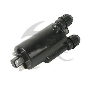 Black Ignition Coil For Honda VT600 VT750 VT1100 Shadow VT1300 VTX1800 VTX1300