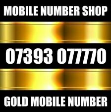 GOLD VIP BUSINESS DIAMOND PLATINUM MOBILE PHONE NUMBER SIM CARD 777
