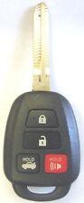 keyless remote for FCC ID HYQ12BDM control H chip 4D67 key fob ignition keyfob