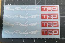 Racing Development TRD Car Door Handle Sticker (4 Piece Set)