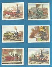 Original Players/Tom Thumb cards : HISTORY OF BRITAIN`S RAILWAYS
