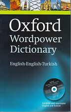 OXFORD WORDPOWER DICTIONARY ENGLISH TURKISH with CD-ROM @NEW