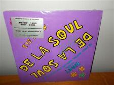 De La Soul . Buddy / Eye Know . Yo Check This Out . Tommy Boy . 3 Record Lot LP