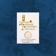 Portugal - 730 Jahre Universität von Coimbra - 2 Euro 2020 BU Coincard