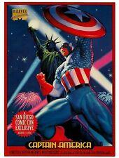 CAPTAIN AMERICA 1994  Marvel Masterprint SAN DIEGO COMIC CON  Masterpieces
