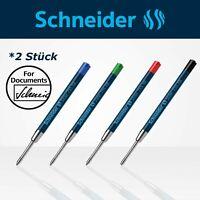 Schneider Slider 755 XB Mine Ersatzmine Kugelschreiber Rave *2 Stück