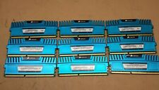LOT OF 9 CORSAIR VENGEANCE 35GB (9X4GB) 1600MHz MEMORY (MM365)